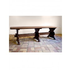 Country Style trestle table (280x100)