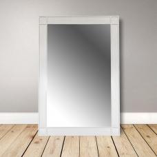 Colonial mirror frame