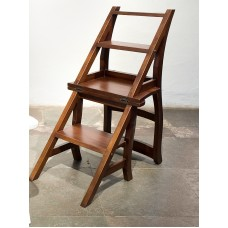 Library ladder-chair
